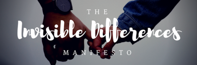 picture with words: The invisible difference manifesto