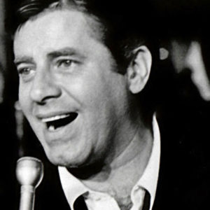 Black and White Photo of Jerry Lewis