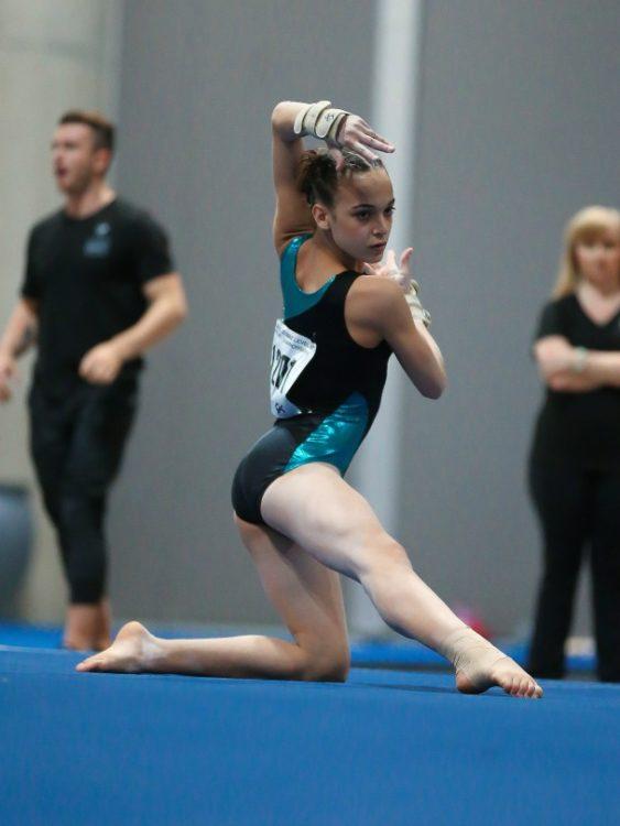 Juliana A at gymnastics
