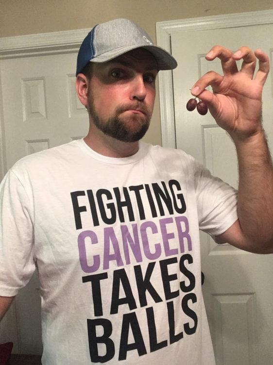 Justin BirckBichler fighting cancer sucks