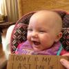 Olivia Caldwell last chemo photo