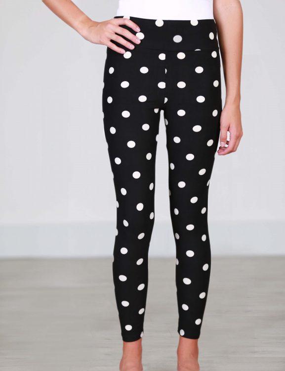 polka dot leggings from simple addiction