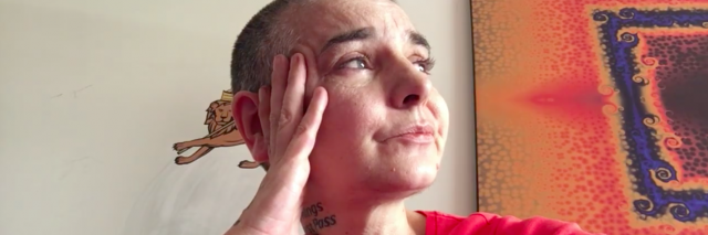 screen shot of Sinead O'Connor