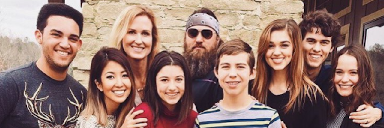 duck dynasty family photo