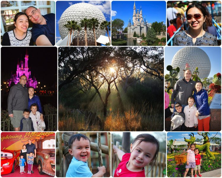 cancer survivor on Disney trip with family