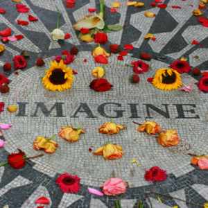 Strawberry Fields, New York, Central Park.