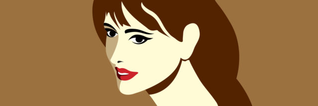 creative vector of fashion women portrait, fashion beauty