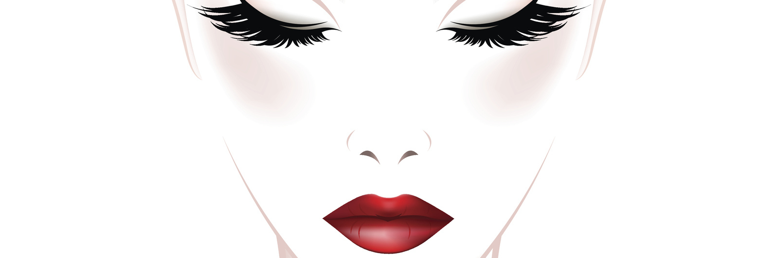 An illustration of a woman with a white background.