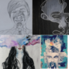 photos of art pieces created by people struggling with mental illness