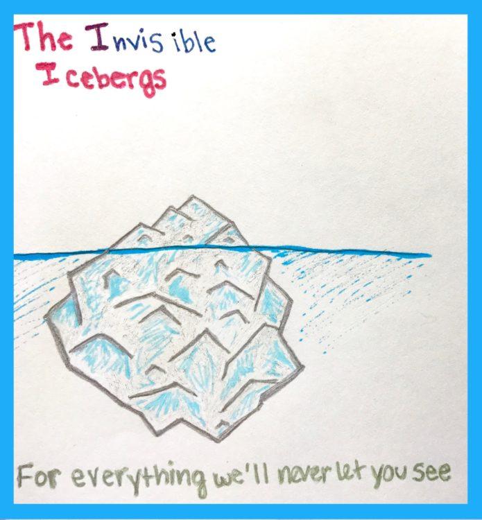 the invisible iceberg mascot