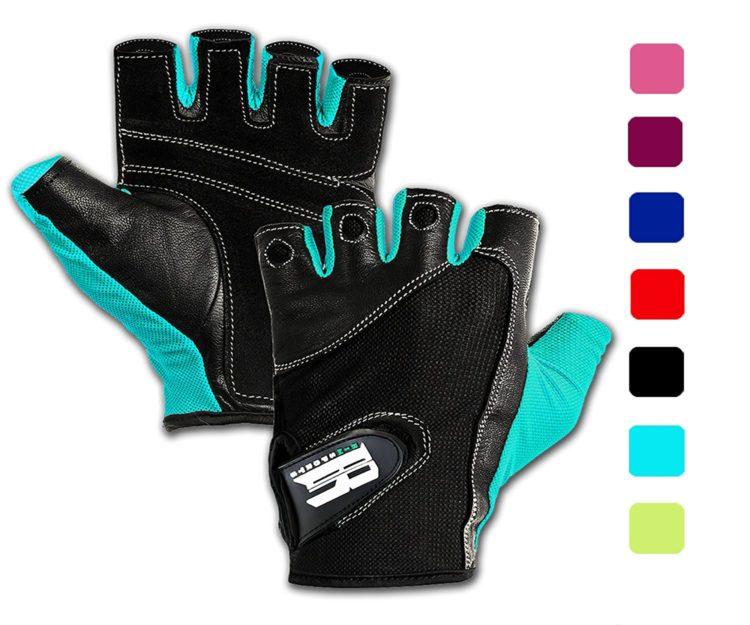 Fingerless gloves for pushing wheelchair.