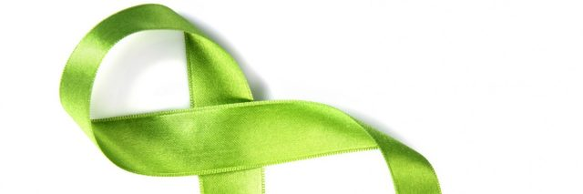 green ribbon for gastroparesis awareness