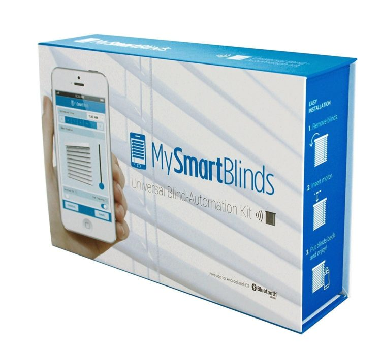 Smart curtains and blinds solve one of the more difficult challenges for disabled people and are a useful smart home device.