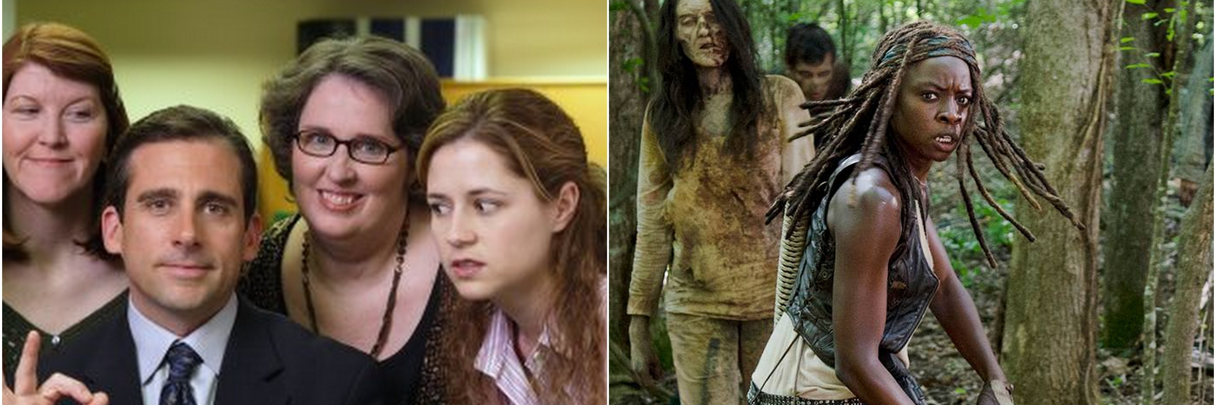 the office and the walking dead images