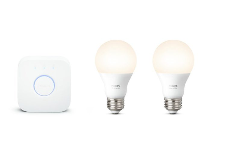 A Philips Hue starter kit can make lights accessible if you have a disability.