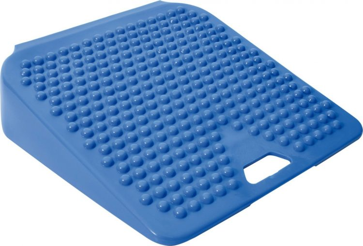 blue wobble cushion