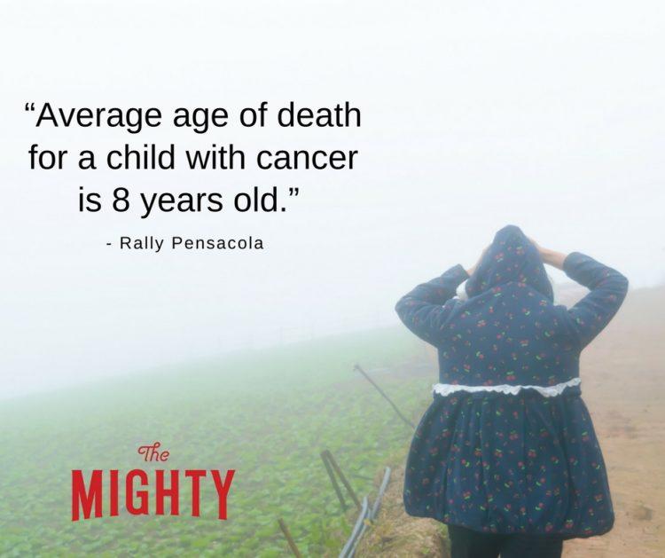 average age 8 cancer stat