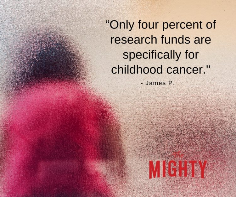 4 percent childhood cancer research fact