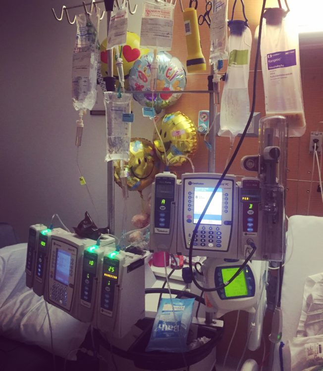 carina campanella hospital room