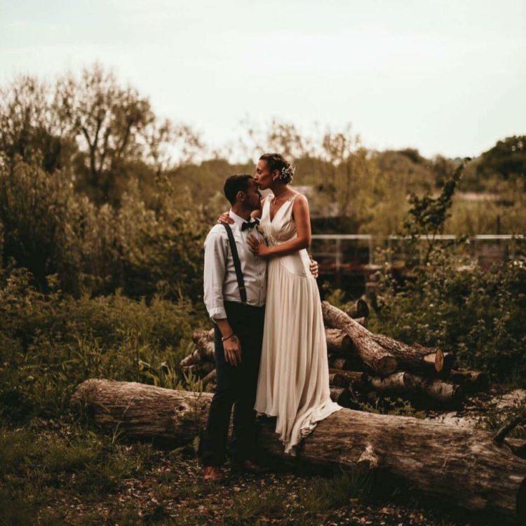 Emma and Jamie wedding photo