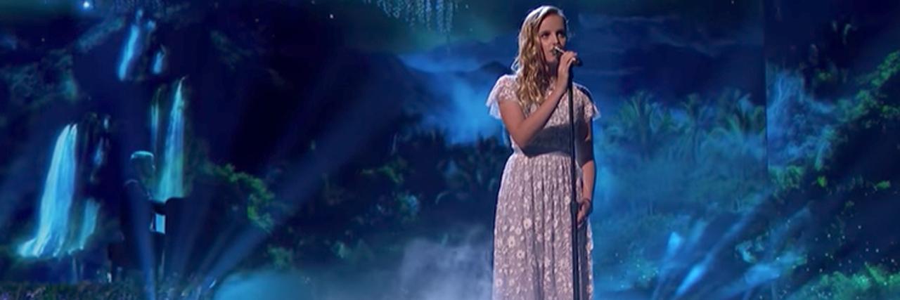 Evie Clair AGT performance