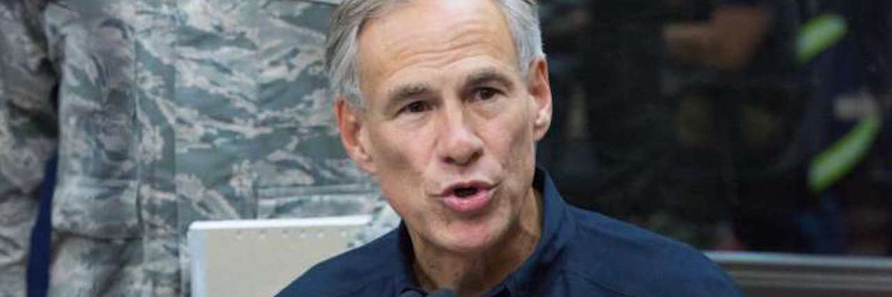 Governor Gregg Abbott of Texas