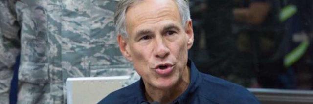 Governor Gregg Abbott of Texas