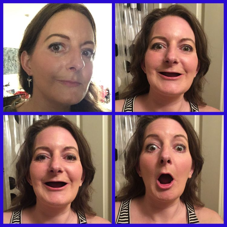 """dating without teeth """"my children love seeing me without my teeth because they think it makes me look more vulnerable and more human,"""" she joked."""