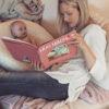 Jessica Sliwerski reading to daughter.