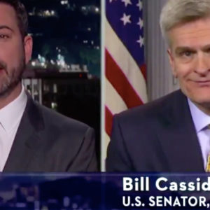 Jimmy Kimmel and Sen. Cassidy