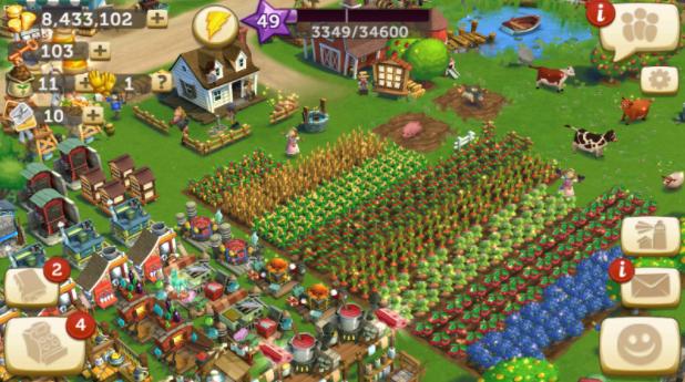 farmville screen