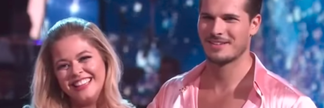 sasha pieterse and gleb savchenko on dancing with the stars