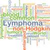 Lymphoma background concept