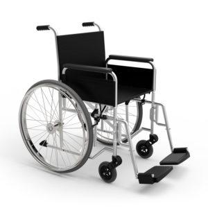 Manual wheelchair.