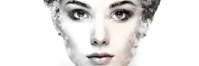 photo of a woman with the edges of her face faded