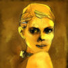 Grunge, golden girl sketch