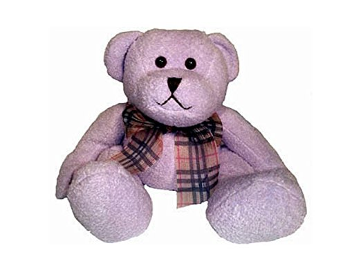 aromatherapy and hot/cold therapy purple stuffed animal