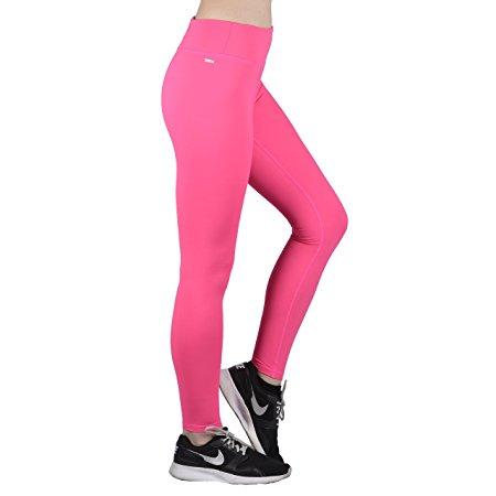 pink compression leggings