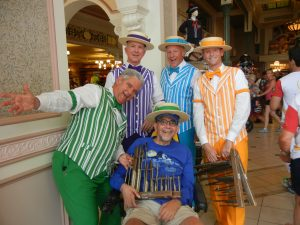 Ben with the Dapper Dans.