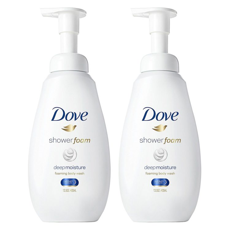 dove foam soap