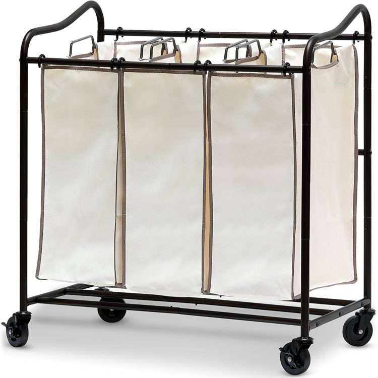 rolling laundry cart