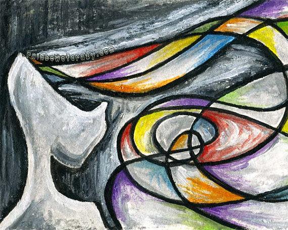 drawing of bipolar disorder