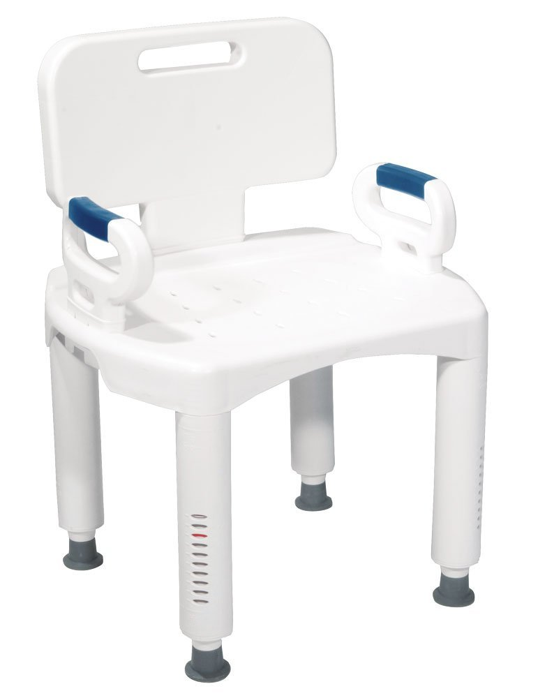 Shower chair for people with a disability or chronic illness.