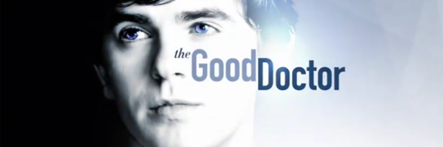 "Poster for TV show ""The Good Doctor."""