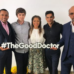 "The cast of ""The Good Doctor."""