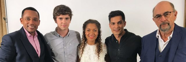 """The cast of """"The Good Doctor."""""""