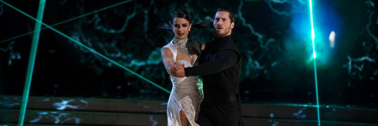 Victoria and Val performing on Dancing With the Stars.