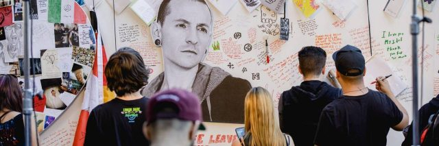 chester bennington tribute photo Bojan Hohnjec