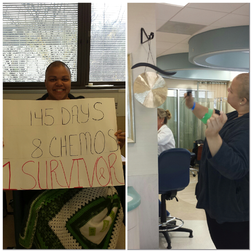 Charity Bryan chemo graduation