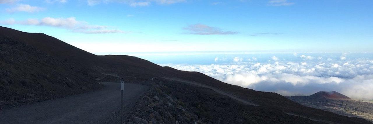 Mount Mauna Kea in Hawaii